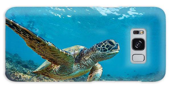 Turtle Galaxy Case - Underwater Marine Wildlife Postcard. A by Willyam Bradberry
