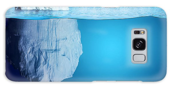 Majestic Galaxy Case - Underwater View Of Iceberg With by Niyazz