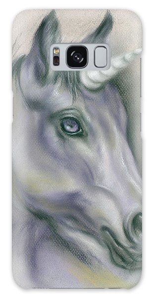 Unicorn Portrait Galaxy Case