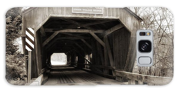 Union Village Covered Bridge Galaxy Case