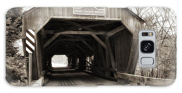 Union Village Covered Bridge Galaxy Case
