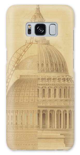 United States Capitol, Section Of Dome, 1855 Galaxy Case