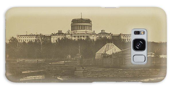United States Capitol Under Construction Galaxy Case