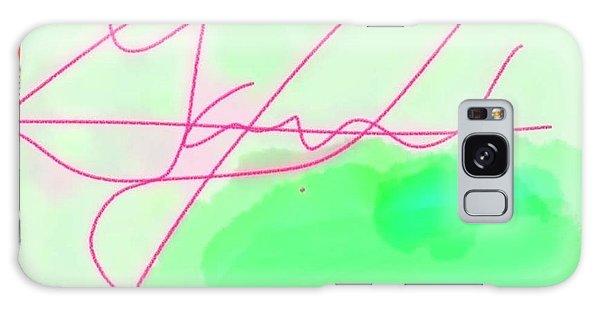 Unknown Signature Galaxy Case