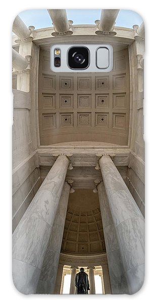 Up At The Jefferson Memorial Galaxy Case