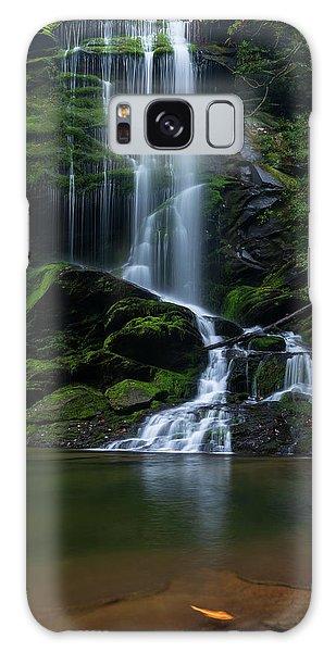 Upper Catawba Falls, North Carolina Galaxy Case