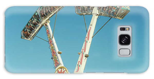County Fair Galaxy Case - Upside Down, Round And Round by Todd Klassy