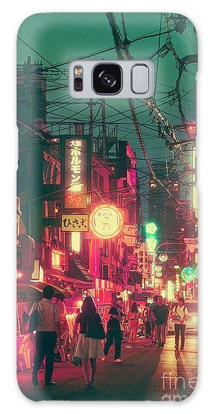 Kansai Galaxy Case - Ura Namba Street Nightlife Osaka Japan by Ivan Krpan