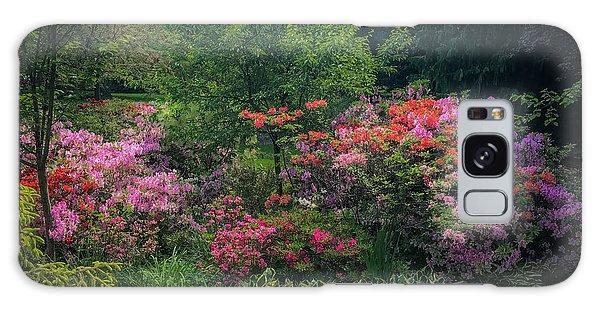 Urban Flower Garden Galaxy Case