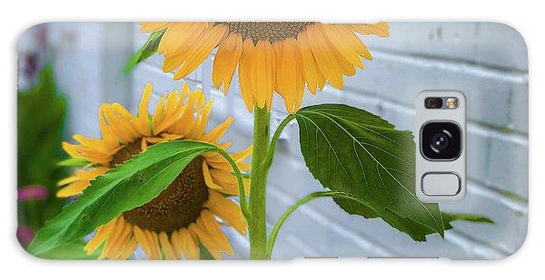 Urban Sunflower Galaxy Case