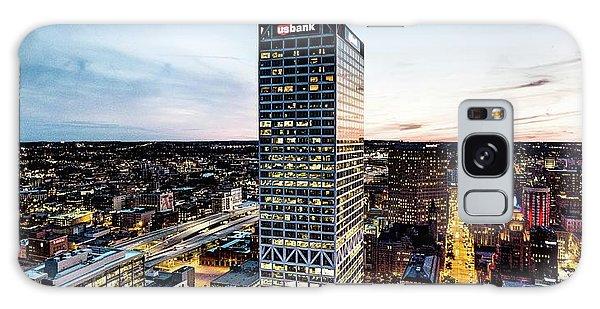 Galaxy Case featuring the photograph Us Bank Tower by Randy Scherkenbach