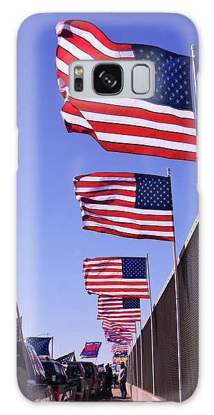 U.s. Flags, Presidents Day, Central Valley, California Galaxy Case
