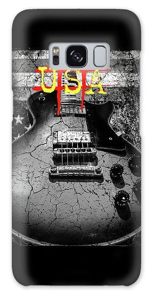 Usa Flag Guitar Relic Galaxy Case