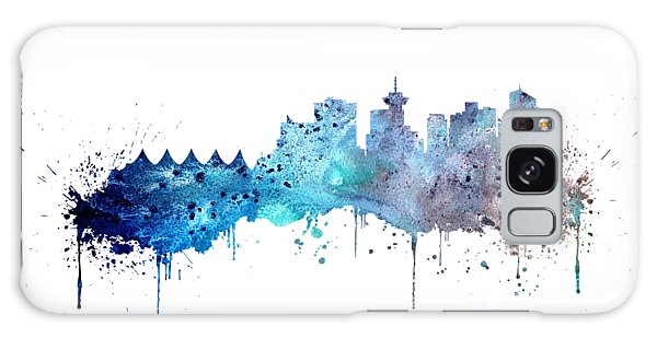 Vancouver City Galaxy Case - Vancouver by Erzebet S