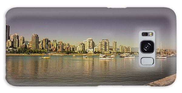 Vancouver In Magical Hours Galaxy Case