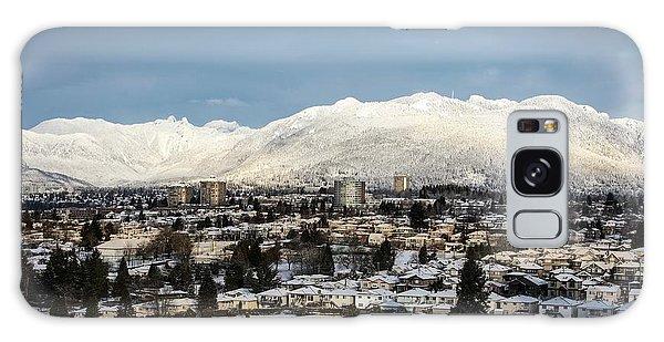 Vancouver Winterscape Galaxy Case