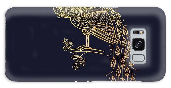 Peacocks Galaxy Case - Vector Design Element - Peacock. Icon by Mamita
