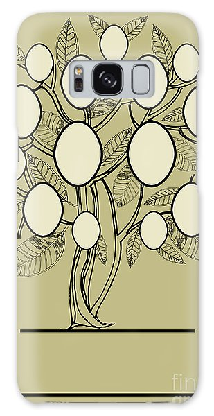 Ecology Galaxy Case - Vector Family Tree Design With Frames by Kynata