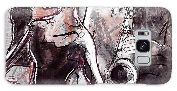 Soul Galaxy Case - Vector Illustration Of A Jazz Band With by Isaxar