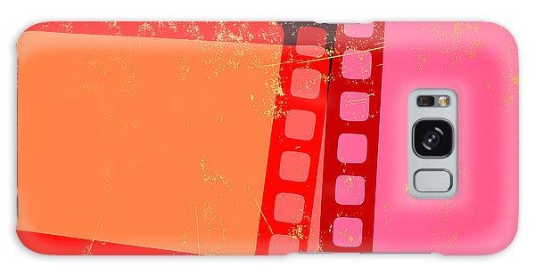 Movie Poster Galaxy Case - Vector Illustration Of Retro Grunge by Pixel Embargo