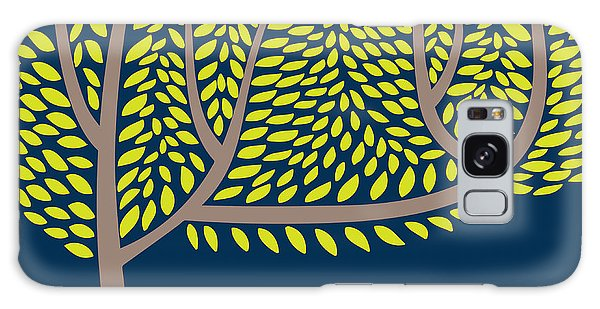 Ecology Galaxy Case - Vector Illustration With Abstract Tree by Vareennik