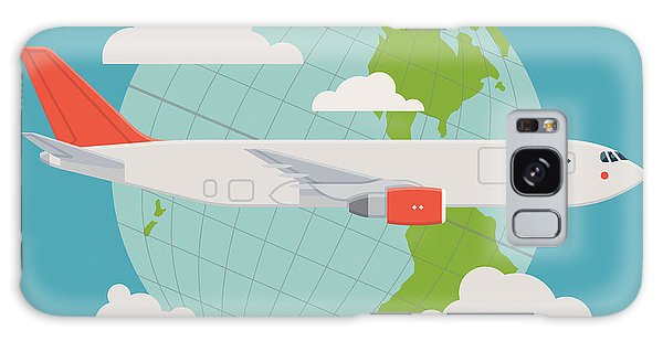 Shipping Galaxy Case - Vector Modern Delivery Web Icon On by Mascha Tace