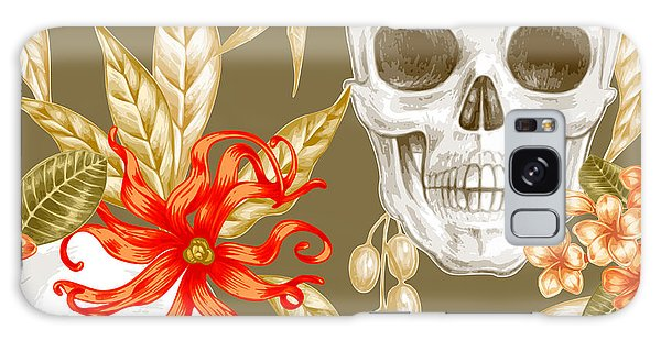 Death Galaxy Case - Vector Seamless Background. Exotic by Mamita