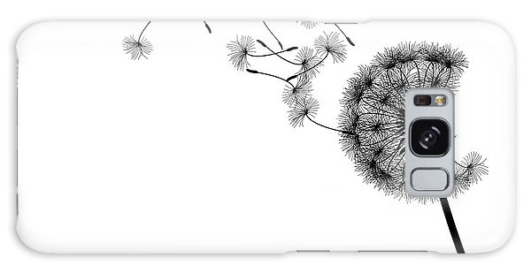 Nature Galaxy Case - Vector Silhouette Graphic Illustration by Robert F. Balazik