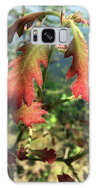 Velvet New Oak Leaves Galaxy Case