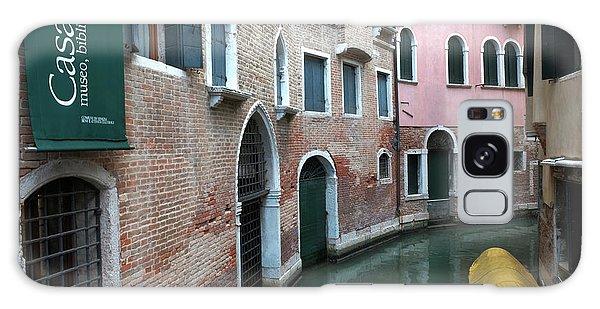 Venetian Streets -canals. Carlo Galdoni Museum Galaxy Case