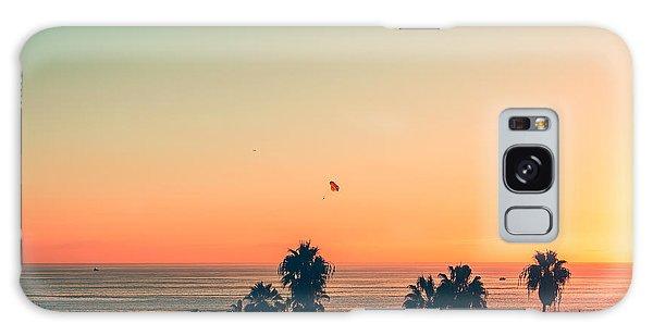 Bright Colors Galaxy Case - Venice Beach Sunset - La by Andrew Shiels