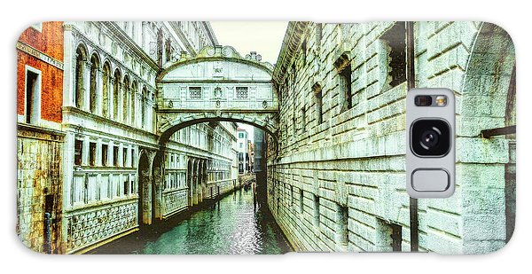 Venice Bridge Of Sighs Galaxy Case