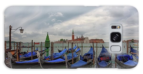 Galaxy Case featuring the photograph Venice Gondola's Grand Canal by Nathan Bush