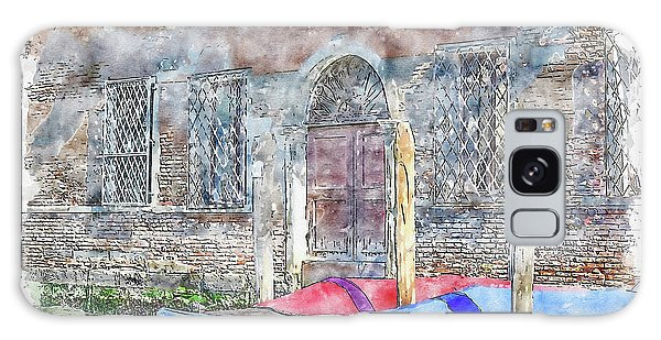 Patina Galaxy Case - Venice #watercolor #sketch #venice #europe by TintoDesigns