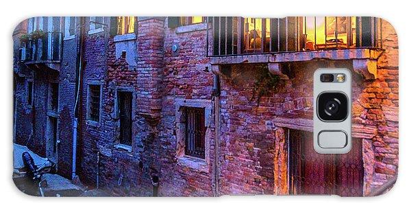 Venice Windows At Night Galaxy Case