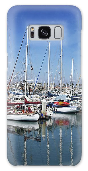 Galaxy Case featuring the photograph Ventura Harbor  By Linda Woods by Linda Woods