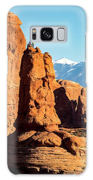Galaxy Case featuring the photograph Victory Dance by David Morefield