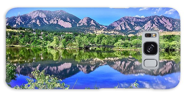 Galaxy Case featuring the photograph Viele Lake 2 by Dan Miller