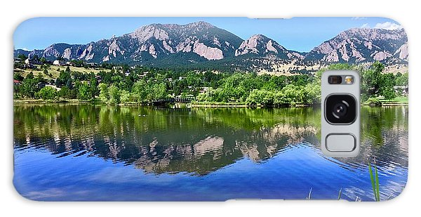 Galaxy Case featuring the photograph Viele Lake 3 by Dan Miller