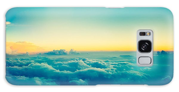 Airport Galaxy Case - View From Airplane Window To See Sky On by Blur Life 1975