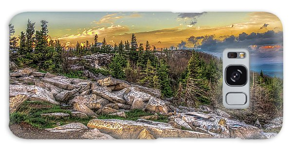 Galaxy Case featuring the photograph View From Dolly Sods 4714 by Donald Brown