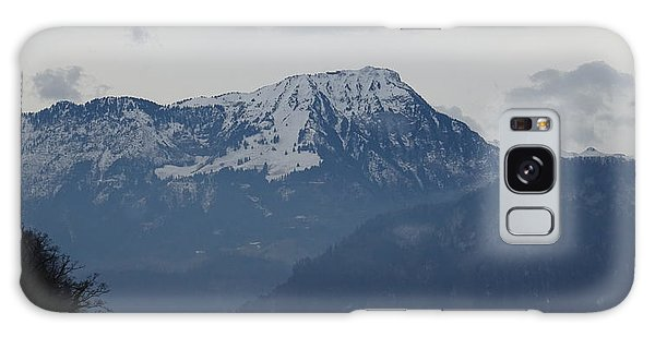 View From My Art Studio - Stanserhorn - March 2018 Galaxy Case