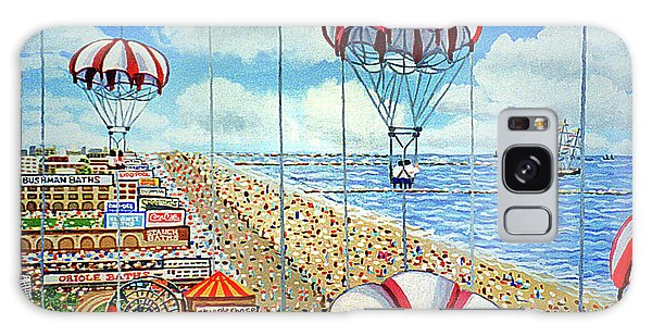 View From Parachute Jump Towel Version Galaxy Case