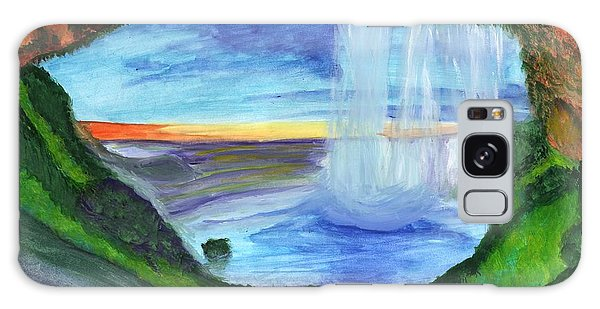 View From The Cave To The Waterfall Galaxy Case