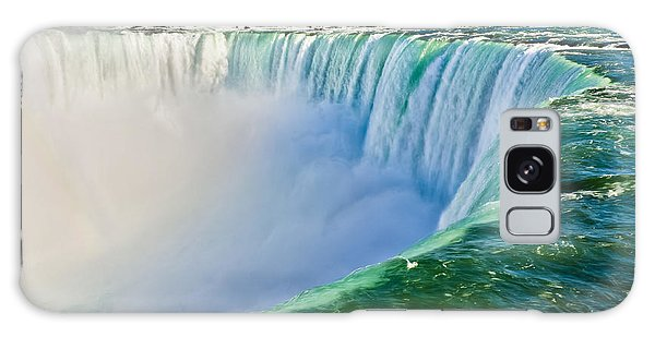 Angle Galaxy Case - View From The Edge Of Niagara Falls by Christopher Gardiner