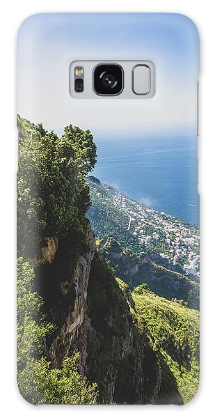 Galaxy Case featuring the photograph View Of Amalfi Italy From Path Of The Gods by Nathan Bush
