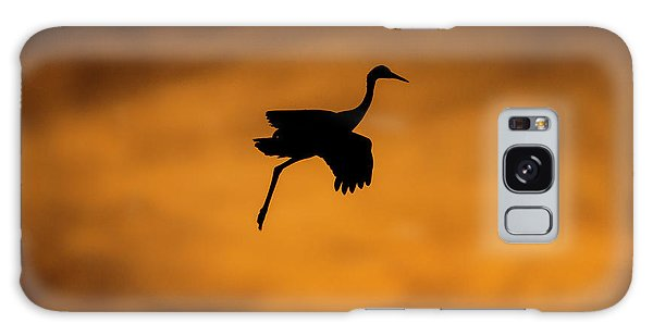 Cloudscape Galaxy Case - View Of Flying Sandhill Crane, Soccoro by Panoramic Images