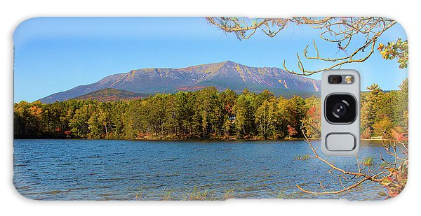 View Of Katahdin In Early Fall Galaxy Case