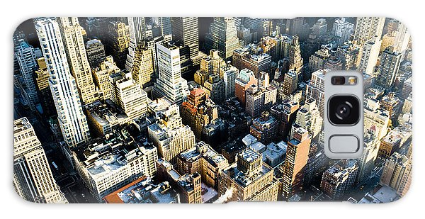 United States Galaxy Case - View Of Manhattan From The Empire State by Richard Semik