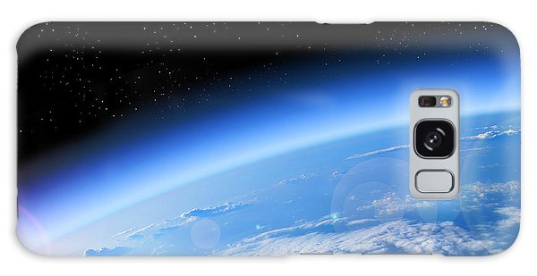 Plane Galaxy Case - View Of The Earth From Space, Blue by Studio23